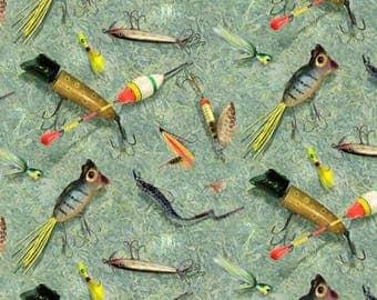 Fishing lures - one yard