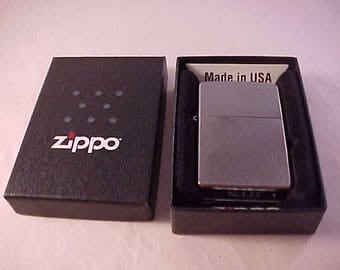Zippo Lighter Sealed in Original Box Never Used