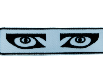 Siouxsie and the Banshees Eyes Patch Iron on Applique 80's Alternative Clothing - EPJS243-PATCH