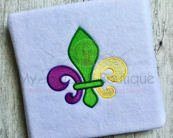 Fleur De Lis Embroidery Design - Machine Monogram Designs - 10 Sizes - Instant Download