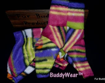 """12.5"""" Ready to Ship BuddyWear fleece outfit for Italian Greyhounds, Hairless Terriers, Cresteds and all small dogs"""