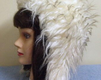 10% OFF 1980s Ladies Faux Fur Hat - Small