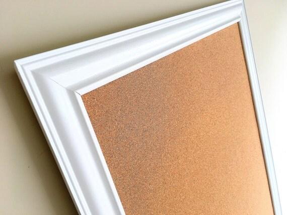 message board huge framed cork board white frame kitchen. Black Bedroom Furniture Sets. Home Design Ideas