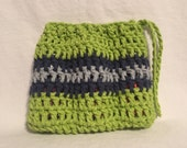 Essential Oil Cozy - Essential Oil Bag - Essential Oil Carrier - Seattle Seahawks colors