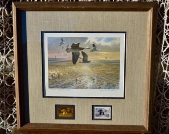 1985 Texas Duck Stamp Print