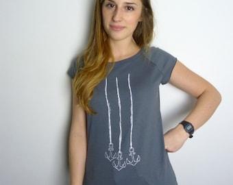 Anchor chain Girl T-Shirt organic cotton & fair trade