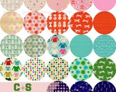 Complete Fat Eighth bundle from the Noel collection by Cotton and Steel - 23 pieces