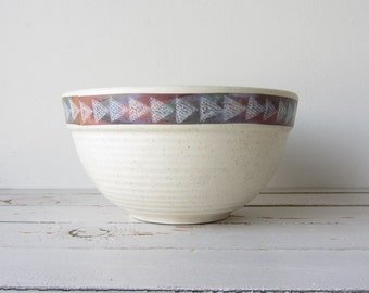 Vintage Medium Size Stoneware Bowl