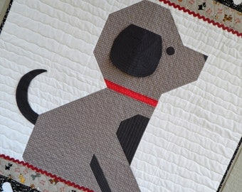Give a Dog a Bone Puppy Baby Quilt Pattern