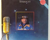 """ON SALE Willie Nelson Vinyl Record Album Vintage 1970s Country Western Marijuana Rights Activist """"Stardust"""" (1980s re-issue w/""""Georgia On My"""