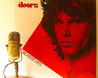 "ON SALE The Doors Vinyl Record Album ""Greatest Hits"" (Scarce 1980 Columbia Record Club version w/ inner sleeve, ""Light My Fire"")"