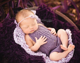 Newborn Onesie and tieback set