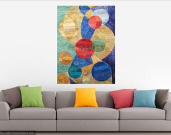 Contemporary Abstract Art - Circles - Abstract Art - Albuquerque