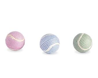 Seersucker Tennis Ball by Mudpie®