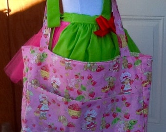 Reversible Strawberry Shortcake Tote Baby Bag