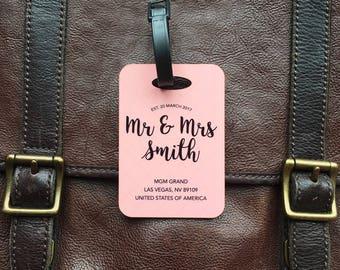 Wedding Luggage Tag
