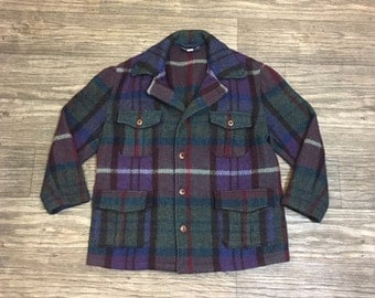 Vtg POLO Ralph Lauren WOOL Made in USA Jacket