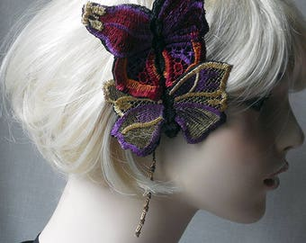 Double Butterfly Headpiece