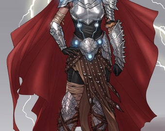 Jane Foster Thor armor