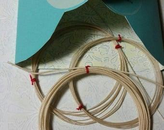 Violin Strings, Real Silk