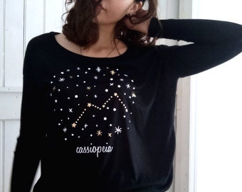 Cassiopeia Constellation Shirt
