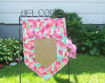 Personalized Two-sided Garden Flag