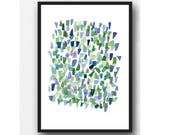 Print Sea Glass A4   11,7 x 8,3 inches