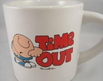Ziggy Time Out Heavy Stoneware Mug 1982