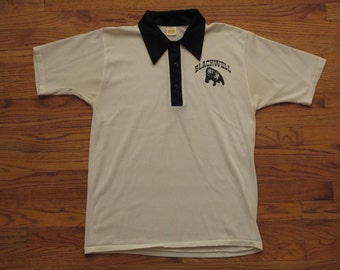 vintage Russell athletic mesh polo shirt