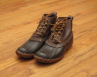 vintage LL Bean Maine hunting shoes