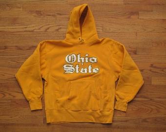 mens vintage Ohio State Champion reverse weave sweatshirt