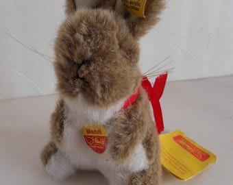 Steiff Rabbit Bunny  miniature all IDs made in Germany 2063