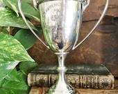 Antique 1913 British College Sports Trophy