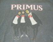 Vintage 90's PRIMUS Les Claypool punk rock concert Tour T Shirt Adult size XL