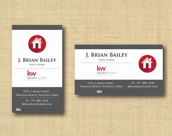 Digital File | Custom Business Card Design Classic Pinstripe | Any Color Any Company