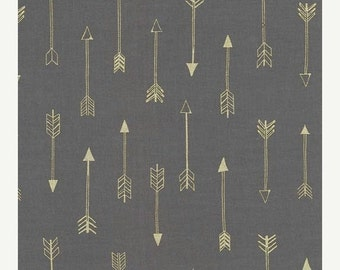 Christmas Sale Michael Miller Fabric - Half Yard Arrows in Coin
