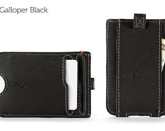 The Slim Front Pocket Wallet - Black