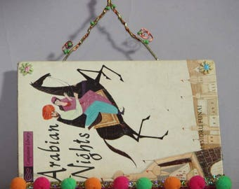 Arabian Nights Book Pocket
