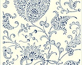 A452 FLORAL PAISLEY for the Rolling Mill- Rollerprint Patterns™