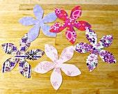 Flower Applique, Fusible Applique, Iron on Applique, Iron on Patch, Fabric Patch, Flower Patch, Fabric Embellishment