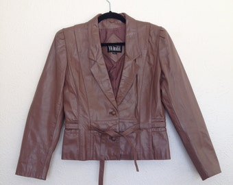 Vintage Winlit Leather Jacket