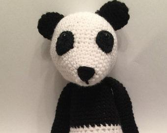 Crochet Amigurumi Panda Bear Plush
