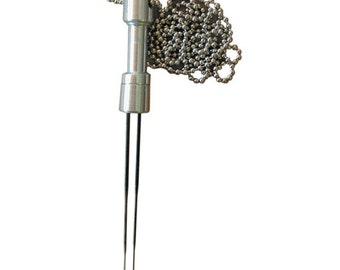 Needle Felting Tool - METAL Up to 2 Felting Needles