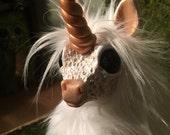 Shaggy artic unicorn