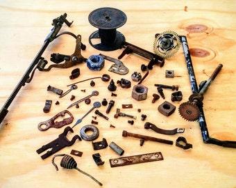 Antique Steampunk Parts - 1906 Remington No. 7 Typewriter