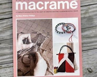 Step by Step Macrame Book by Mary Walker Philips