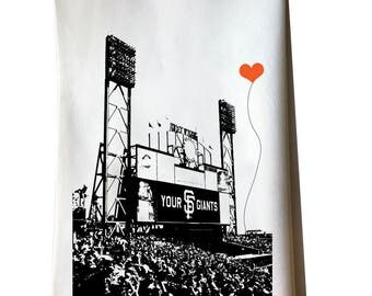 San Francisco Giants Ballpark tea towel