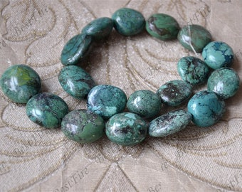 15inch 19x22mm Natural old Turquoise nugget loose beads,turquoise nugget gemstone beads,turquoise nugget beads