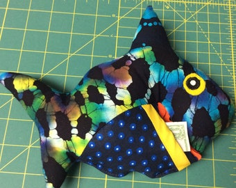 Tooth fairy shark pillow