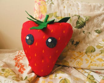 Giant Strawberry Plush